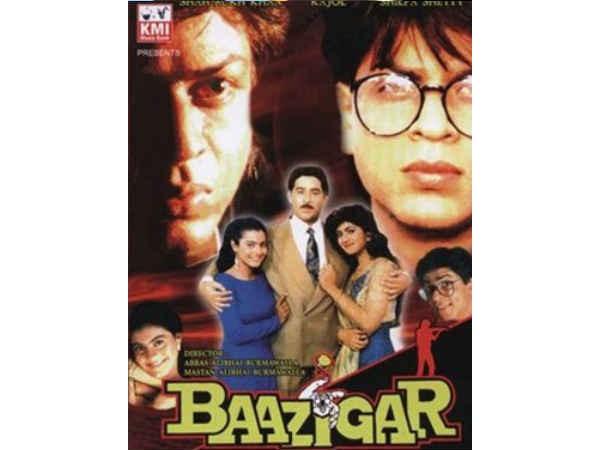 """ഷാരൂഖ് - കജോൾ ജോഡിയുടെ ആദ്യ ചിത്രം; തോറ്റുകൊണ്ട് ജയിക്കുന്നവരെ പറയും - """"ബാസിഗർ""""!!!"""