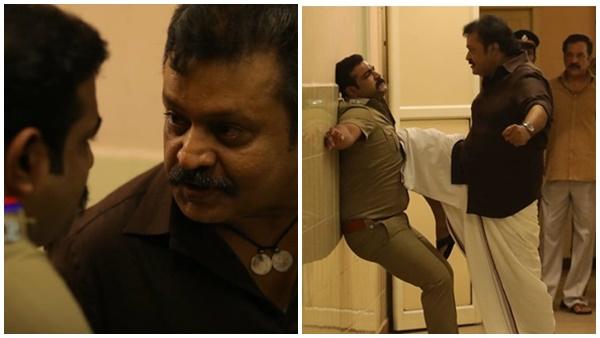 കലിപ്പ് മൂഡില് സുരേഷ് ഗോപി! തരംഗമായി കാവലിന്റെ മാസ് സ്റ്റില്