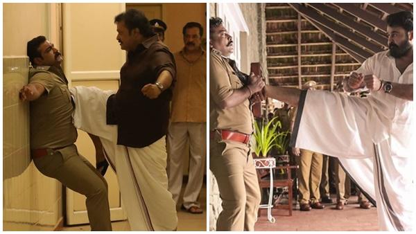ലൂസിഫറിലെ സ്റ്റീഫന് നെടുമ്പളളിയെ ഓര്മ്മിപ്പിച്ച് സുരേഷ് ഗോപി! വൈറലായി ചിത്രം