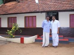 Mohanlal And Bunnukrishnan Visited Ilanthur