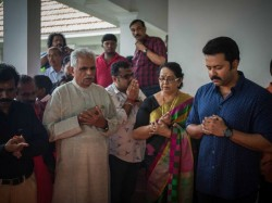 Mohanlal Movie Pooja Stills