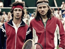 Borg Mcenroe Trailer The Story Of Rivals Turned Friends Bjorn Borg And John Mcenroe