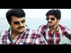 Mammootty And Dulquer Salmaan Ready Work One Hands