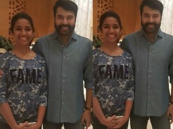 It Is Huge Thing Me Be Playing Mammootty Sir S Daughter Sadhana