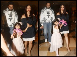 Aishwarya Rai Bachchan Slays As She Steps Out To Celebrate Aaradhya Birthday With Family