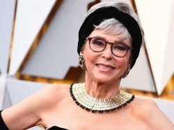 Rita Moreno Rocks Oscars Red Carpet Gown She Wore 1962