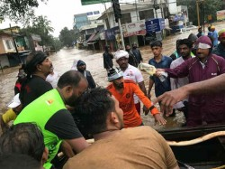Major Ravi Team Fishermen Saved 200 People Kerala Floods