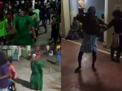 Mohanlal Jimmikki Kammal Dance From Rescue Camp Kerala