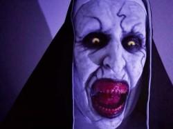 Movie The Nun Making Video