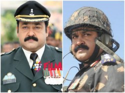 Again Mohanlal Military Uniform