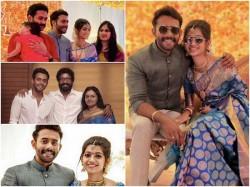 Arjun Ashokan Engagement Photos Videos Viral