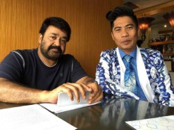 Mohanlal Peter Hein Joins Together See The Reply