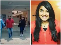 Mohanlal His Daughter Vismaya Airport Video Out