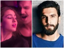 Sara Matches Every Step With Ranveer Simmba S First Song Released