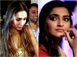 Sonam Kapoor Unhappy With Arjun Kapoor Malaika Arora Relation