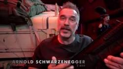 Arnold Schwarzenegger S Terminator Dark Fate Movie Making Video