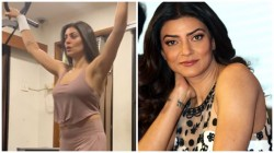 Sushmita Sen Fly Share Gymnastic Video