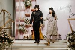 Allu Arjun His Wife Sneha Shined At Niharika Konidela Engagement Ceremony