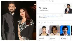Google Showing Abhishek Bachchan S Age As 73 In Mobile Fans Are Confused