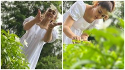 Nayanthara Looks Pretty And Gorgeous In White Dress Her Latest Chill Out Stills From Goa Is Viral
