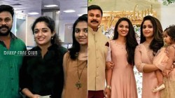 Dileep Kavya Madhavan And Meenakshi Celebrated This Onam Together Reports Spread On Social Media