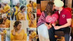 The Moment Before Marriage Neha Kakkar And Rohan Preet Singh S Haldi Photos Went Viral
