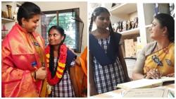 Mammootty S Onscreen Pair Actress Roja Adopts A Baby Girl