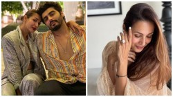 Is Malaika Arora And Arjun Kapoor Engaged Actress Poses With Her Diamond Ring Goes Viral