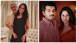 Thala Ajith S 50th Birthday An Unseen Picture Of Ajith Holding Wife Shalini Rock The Internet