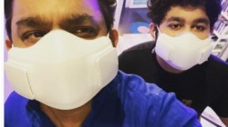 Ar Rahman And Ar Ameen Weared Mask Price Finds By Fans In Social Media Latest Picture Goes Viral