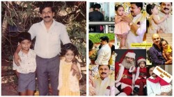 Actress Kavya Madhvan Childhood Pic With Father And Brother Trending On Social Media