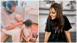 Manju Warrier Sahres Dulquer Salmaan Fathers Day Post Mammootty And Maryam S Pic Trending