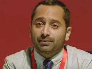 ഒരാള് ഒരു ദിവസം 8 ലിറ്റര് വെള്ളം കുടിക്കണം, എന്നിട്ടത് മൂത്രമൊഴിച്ച് കളയണം എന്ന് ഫഹദ്